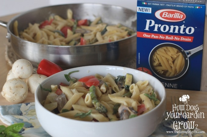 One-Pot Zesty Pasta Primavera - Feature 1