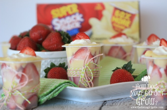 Strawberry Shortcake Trifle Cups - Feature 1
