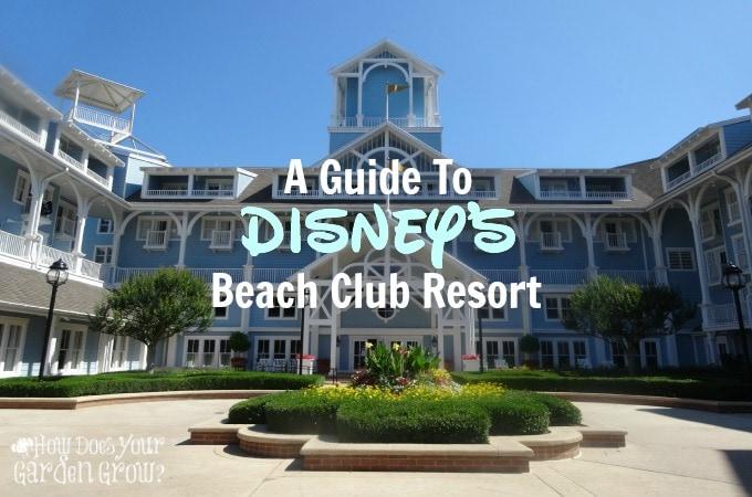 A Guide to Disney's Beach Club Resort