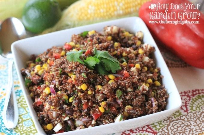 Peruvian Quinoa Salad - Feature 1