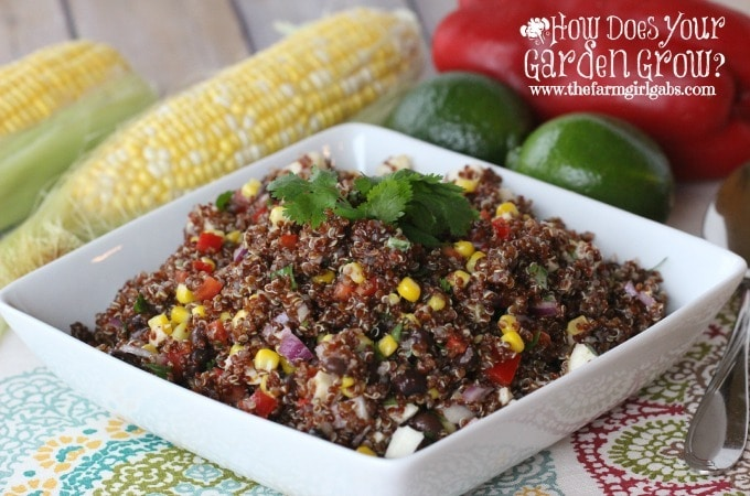Peruvian Quinoa Salad - Feature 3