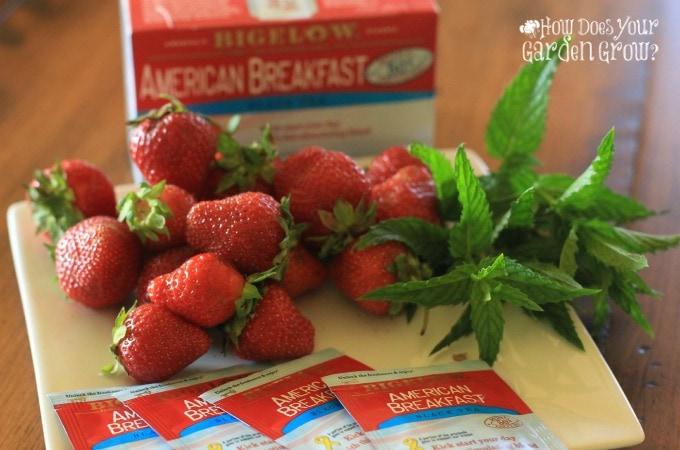 Strawberry Mint Sweet Tea - Feature 2