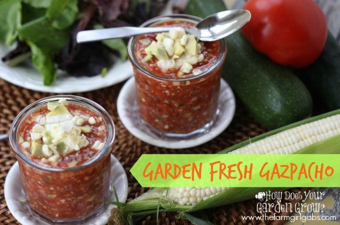 Garden Fresh Gazpacho