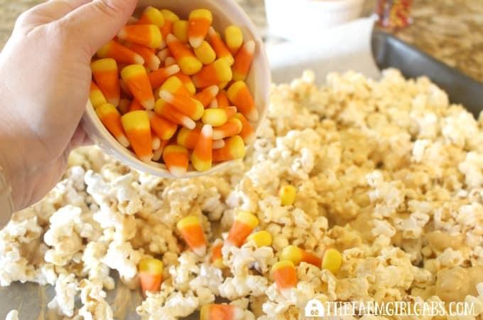 Candy Corn Popcorn - Step 3