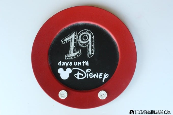 Countdown To Disney Chalkboard-Feature 1