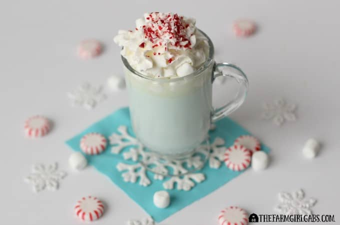 Elsa's Minty White Hot Chocolate Feature 3