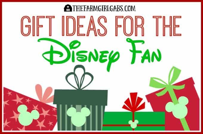 Gift Ideas For The Disney Fan