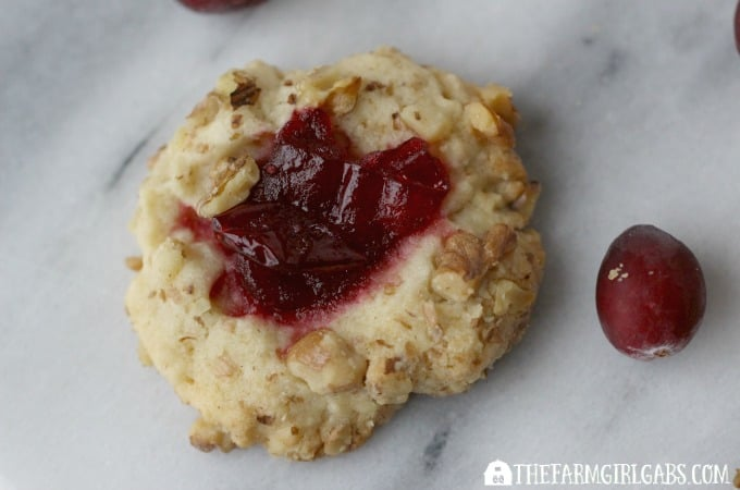 Cranberry Nut Thumbprints - feature 3