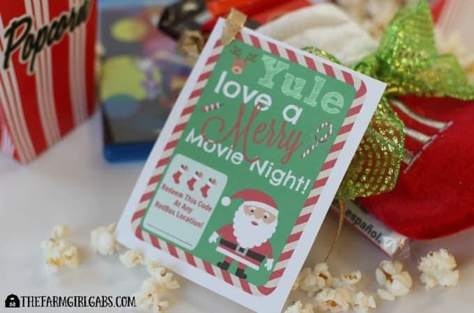 Redbox Movie Night Christmas Gift - Feature 2