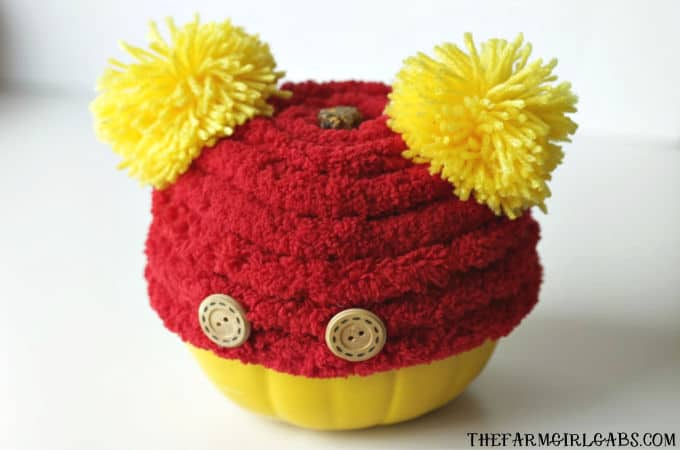 Even our favorite tubby little cubby deserves his own pumpkin. Make Your Own Winnie The Pooh Pumpkin this Halloween.