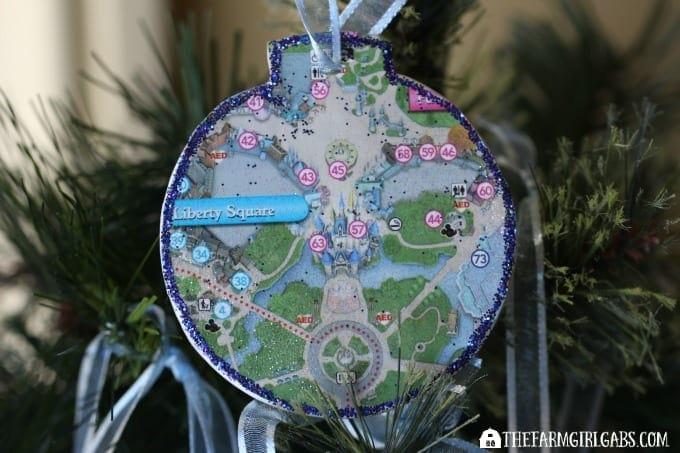 Disney Guidemap Ornaments - Feature 3