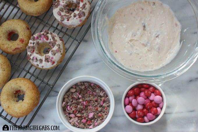 Strawberry & Cream Doughnuts - Step 3