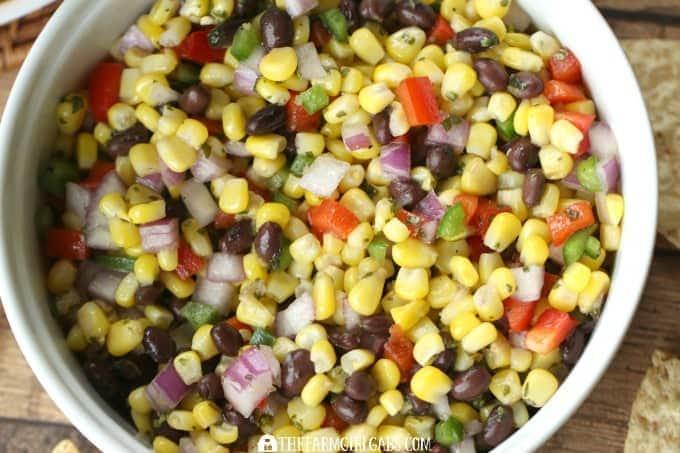 Roasted Corn & Black Bean Salsa - feature 4