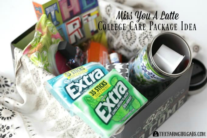 Miss You A Latte College Care Package