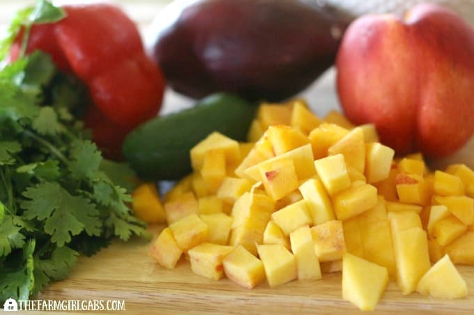 Rev up your taste buds with this zippy Sweet & Sassy Nectarine Salsa!