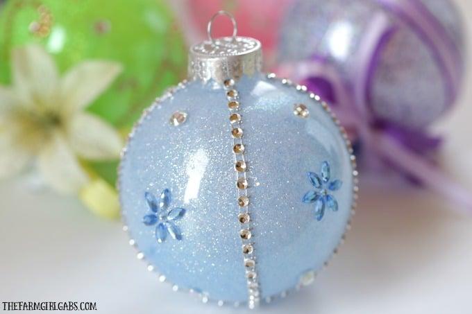 Disney Princess Glitter Ornament - Cinderella