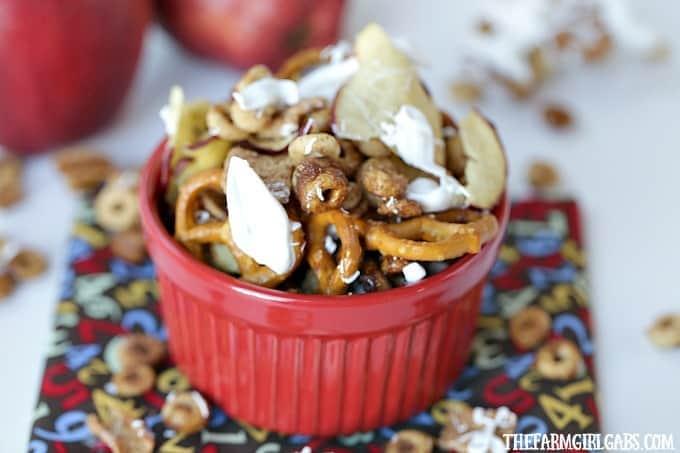 Honey Nut Cheerios™ Apple Pie Snack Mix
