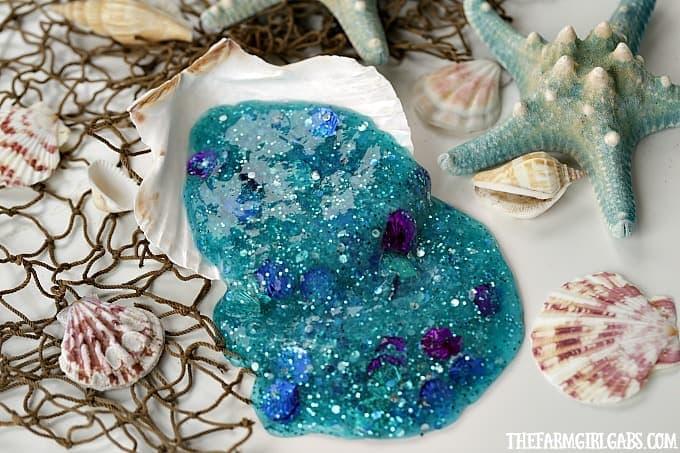 Make Your Own Little Mermaid Slime