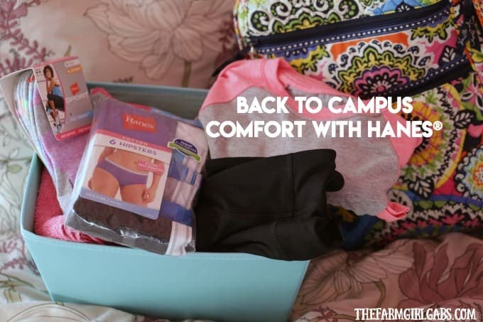 Back To Campus Comfort With Hanes