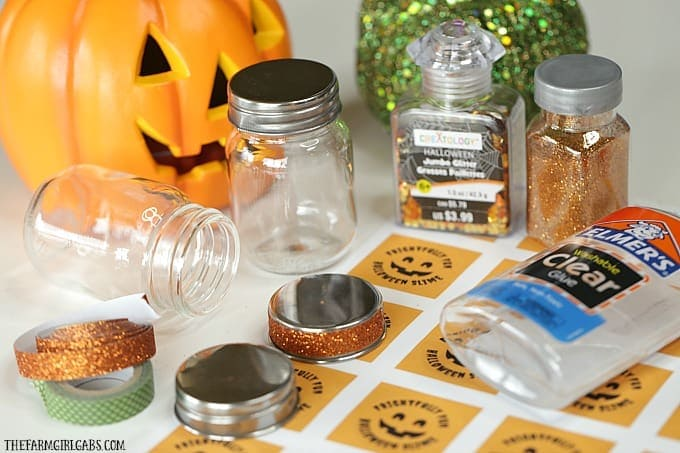 Add some spooky slimy fun to your Halloween party with these funHalloween Slime Party Favors!