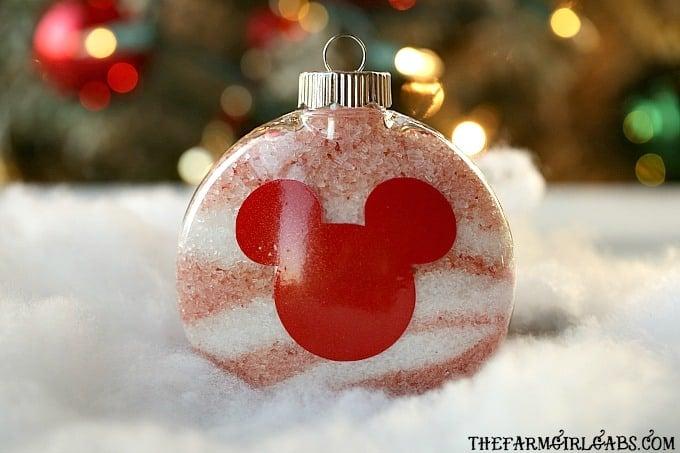 Disney Bath Salt Ornaments