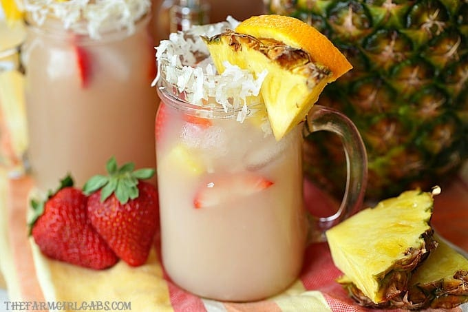 Tropical Party Punch {Non-Alcoholic}