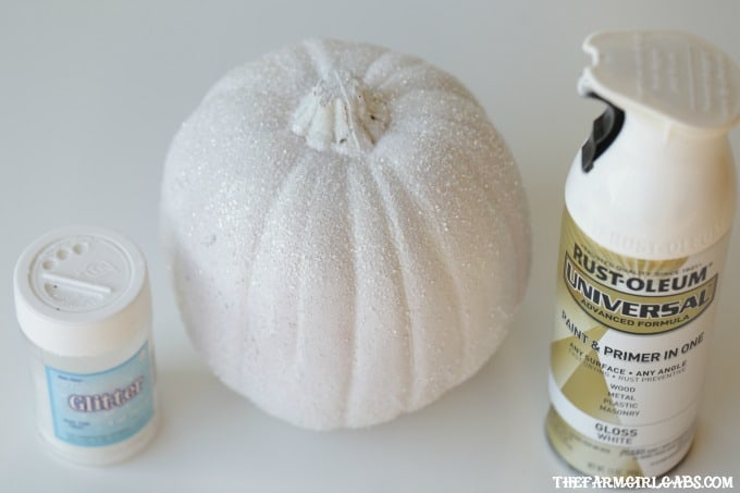 Make Halloween Magical! Make your own Sparkly Glitter Unicorn Pumpkin. This glitter-filled Halloween craft is so simple to create.