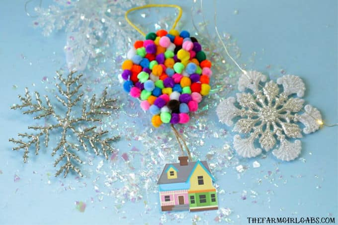 Make Your Own UP Disney Christmas Ornament