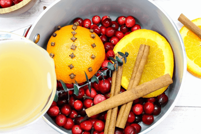 This holiday stovetop potpourri is the perfect blend to make for the holiday season. Make a batch and leave it simmering on your stove all day for an amazing holiday aroma.