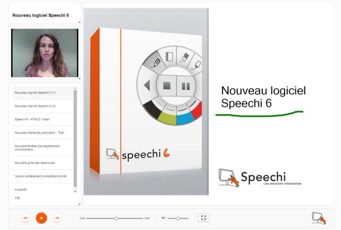Présentation HTML5 speechi 6