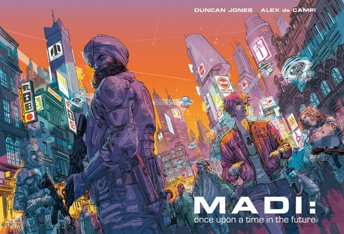 "Mute, Madi: Once Upon a Time in the Future, Alex De Campi, Hollywood Reporter, Kickstarter, Annie Wu, Yukko Shimizu, Kitty Cops, Netflix, Moon, ""Moon Trilogy"", Duncan Jones, Graphic Novel, Annie Wu, Yukko Shimizu, Kitty Cops, Duncan Fegredo, Jacob Phillips"