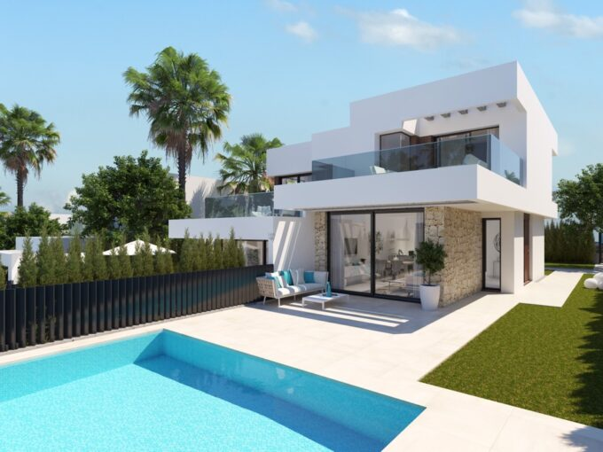 Villas de obra nueva en Finestrat - SEAVIEW 2