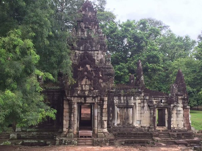 Traveling in Cambodia