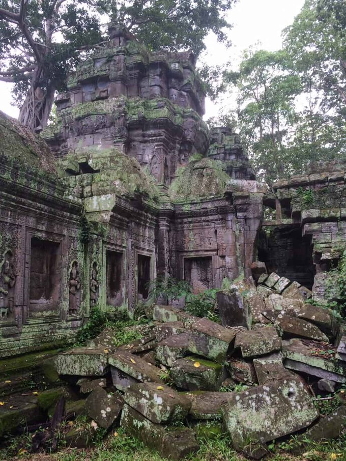 Ruined Building in Cambodia