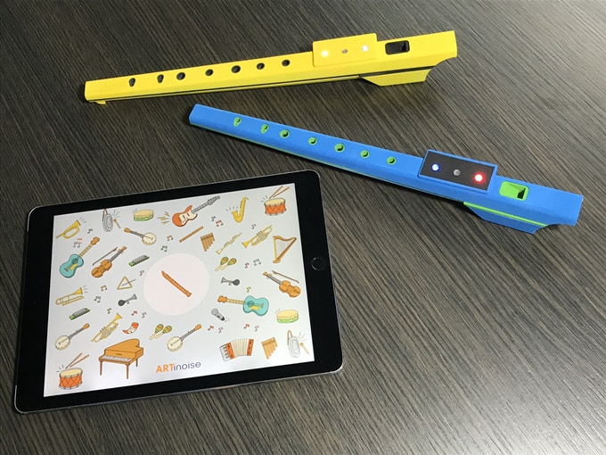The dorky recorder you had in school just got a futuristic remake