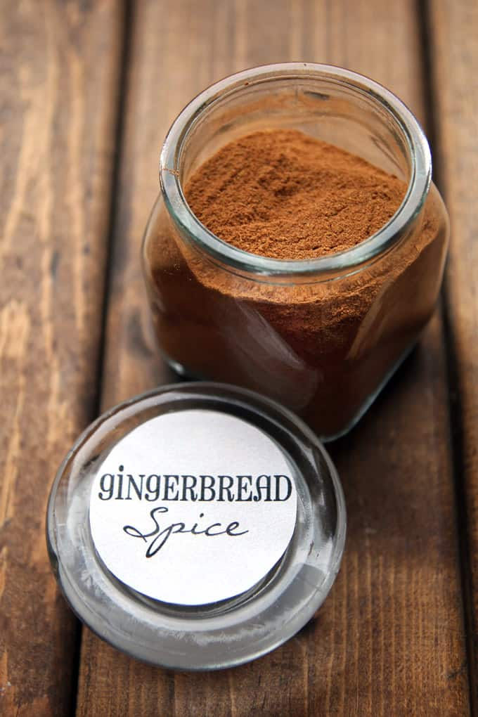 Gingerbread Spice in a Jar