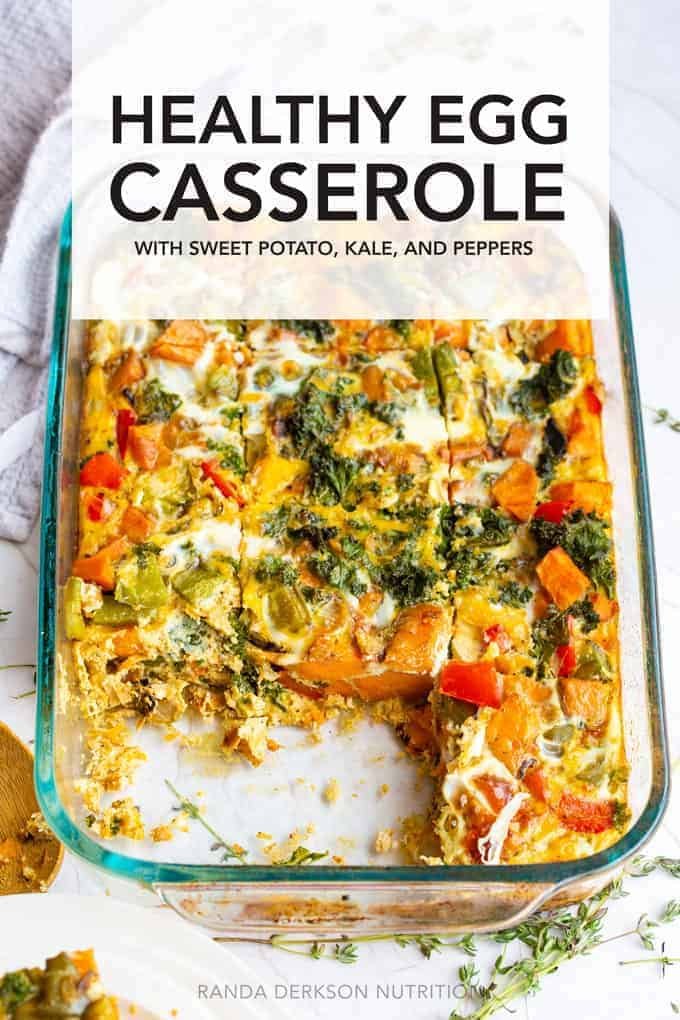 healthy egg breakfast casserole recipe