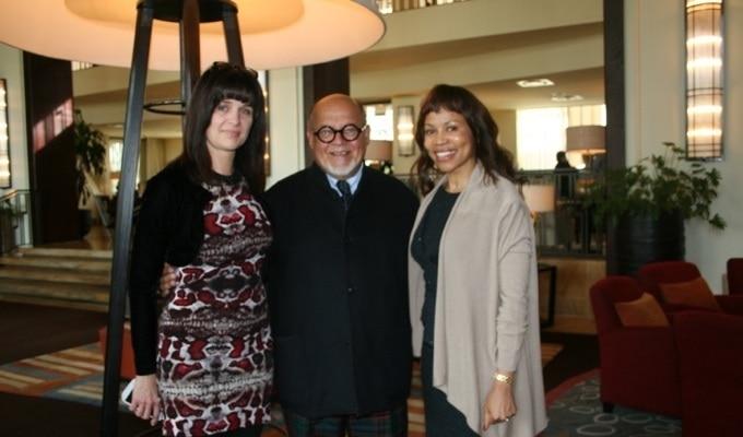 Anita Stanbury, CEO South African National Fashion Council (SANFC), Professor Jan Staël von Holstein, Dr Precious Moloi-Motsepe, Africa Fashion International (AFI) Executive Chairperson