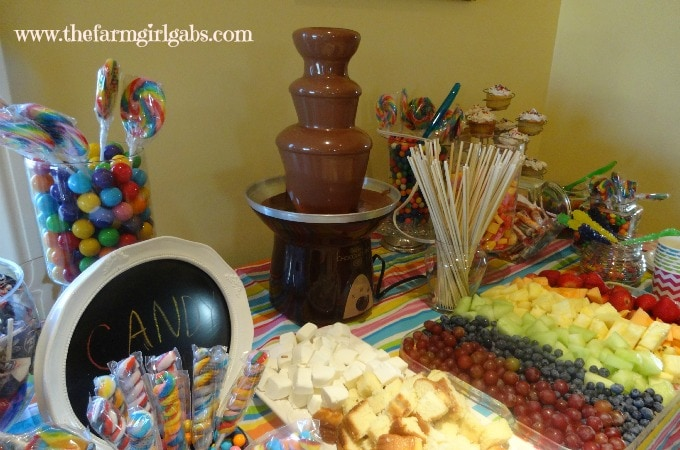 Sweet 16 Candy Bar 1