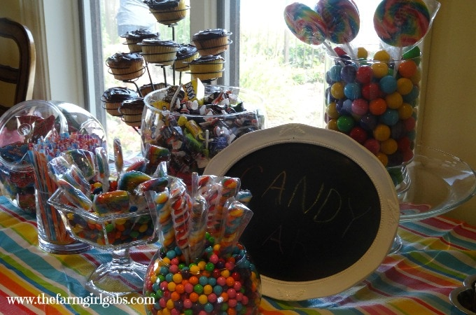 Sweet 16 Candy Bar 3