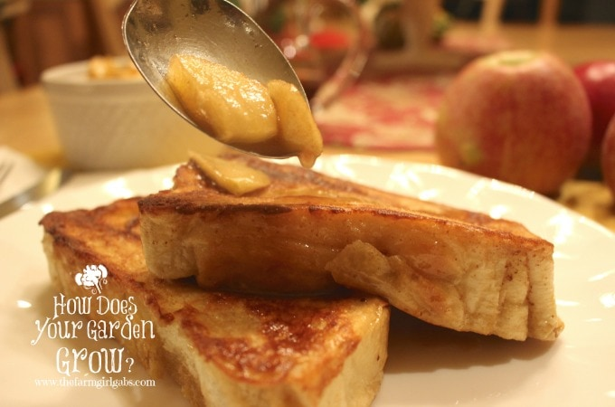 French Toast Apples