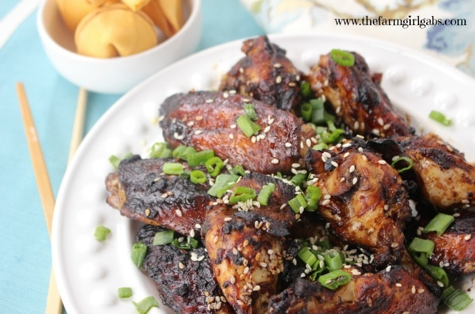 Baked Honey Sesame Wings - Feature 1