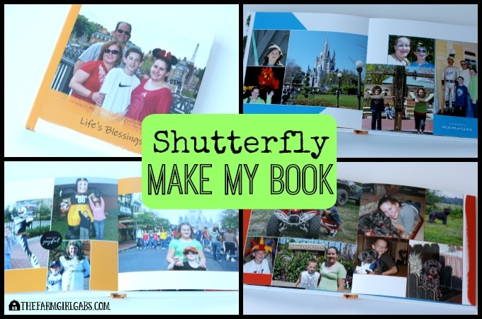 Shutterfly Make My Book is the perfect way to preserve family memories.