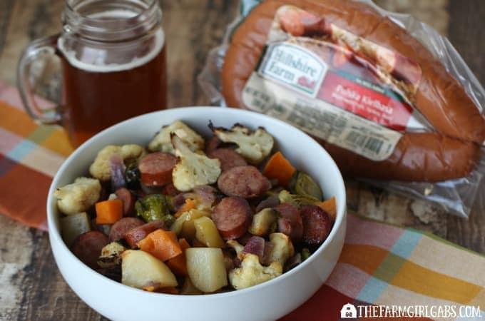 Beef-Braised Kielbasa with Harvest Vegetables - Feature 3
