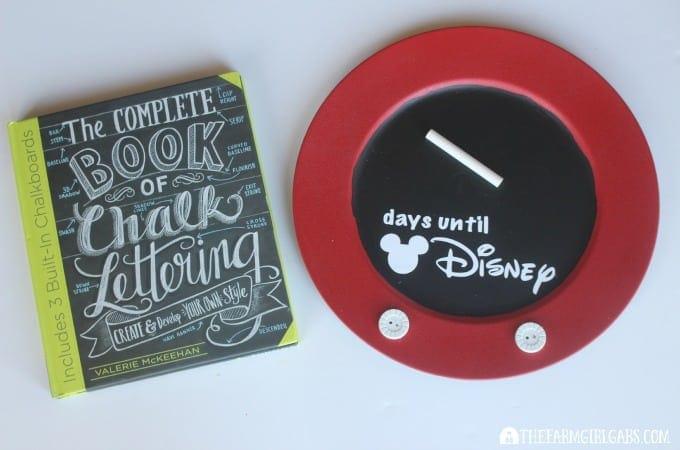 Countdown To Disney Chalkboard-Step 3