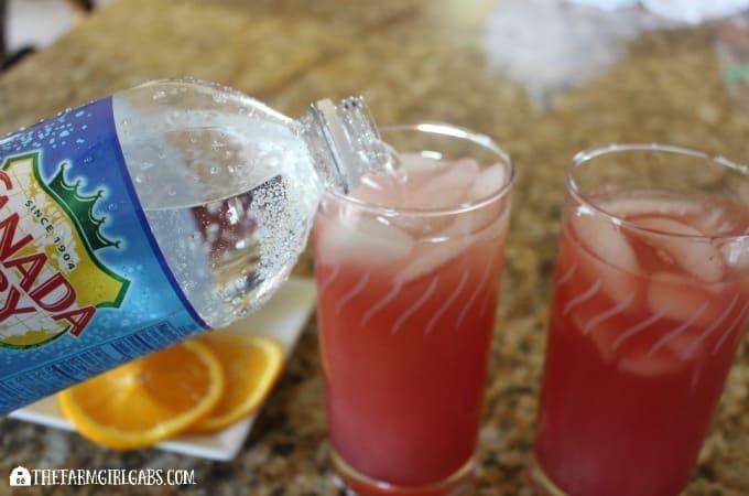 Cranberry Orange Fizzy - Step 2