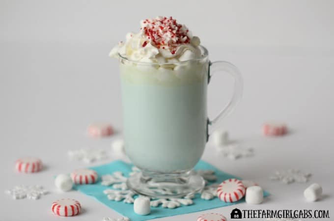 Elsa's Minty White Hot Chocolate Feature 4