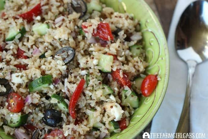 Mediterranean Rice Salad - Feature 3