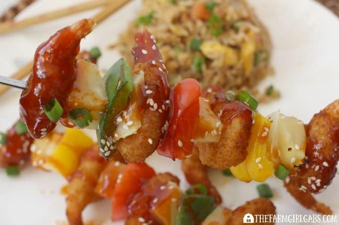 Sweet And Sour Shrimp -Feature 3