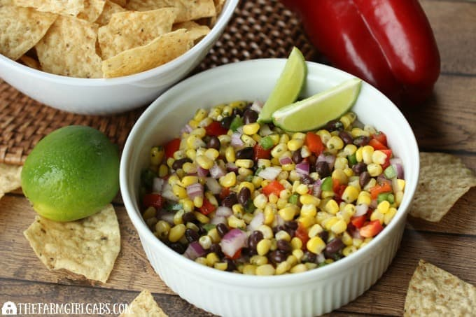 Roasted Corn & Black Bean Salsa - feature 2